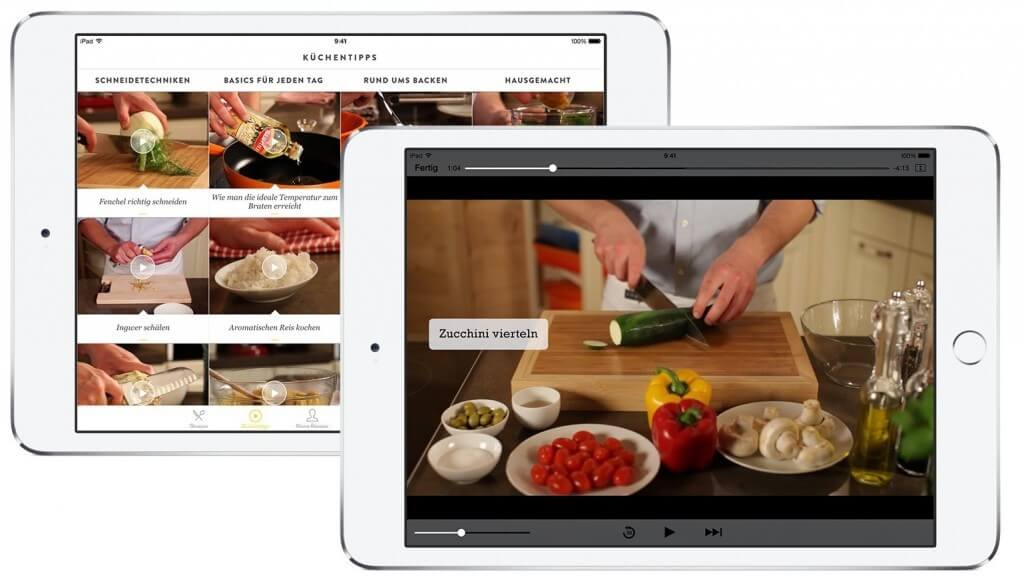 Kitchen Stories_iPad Videoanleitungen