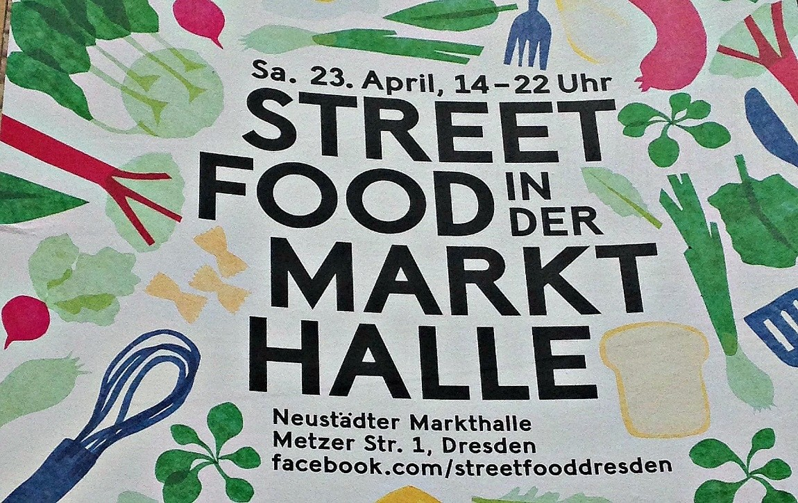 Rezession Street Food in der Markthalle