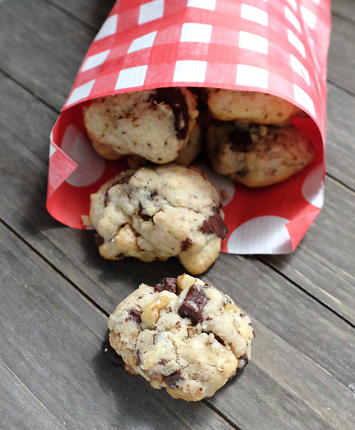 Chocolate Chip Cookies mit Kokosöl