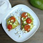 Avocado Bruschetta deluxe