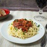 Spaghetti mit schneller Thunfisch-Sauce